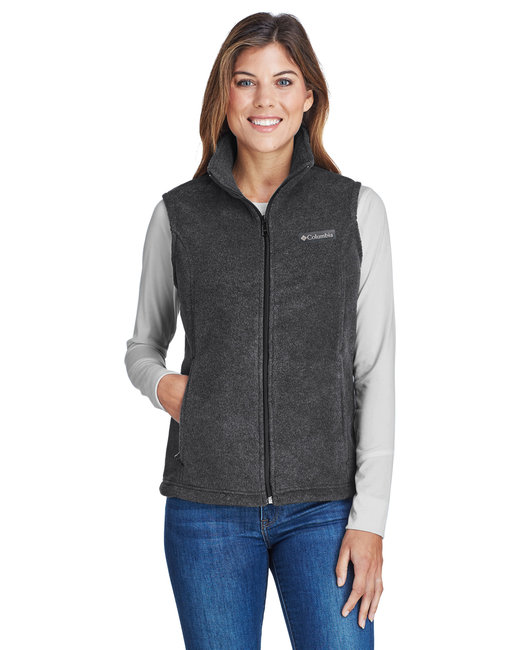 Columbia Ladies' Benton Springs� Vest - Charcoal Hthr