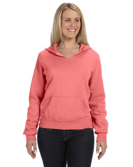 Comfort Colors Ladies' Hooded Sweatshirt - Watermelon