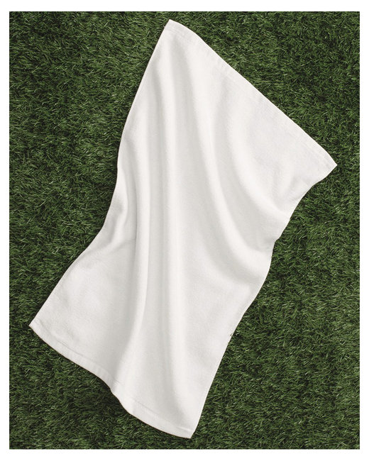 Liberty Bags Hemmed Towel - White