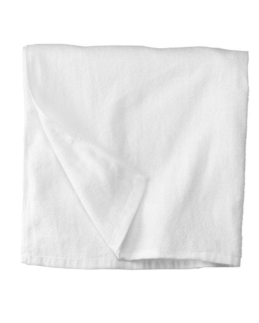 Carmel Towel Company All Terry Beach Towel - White