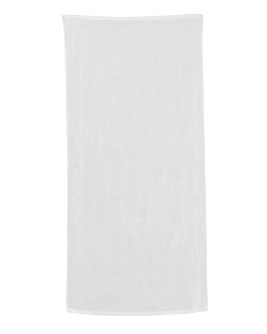 Carmel Towel Company Classic Beach Towel - White