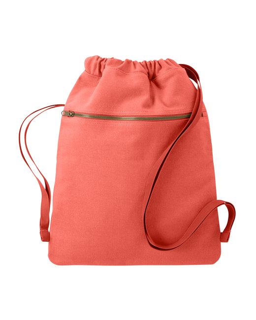Comfort Colors Cinch Sak - Neon Red Orange