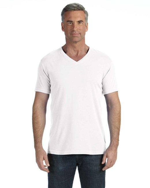 Comfort Colors Adult Midweight RS V-Neck T-Shirt - White
