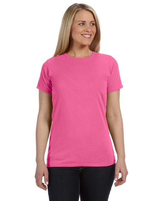 Comfort Colors Ladies' Lightweight RS T-Shirt - Neon Pink