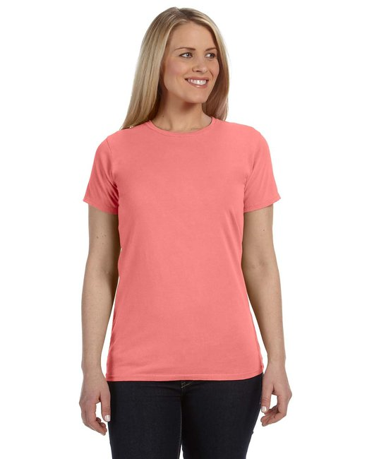 Comfort Colors Ladies' Lightweight RS T-Shirt - Neon Red Ornge