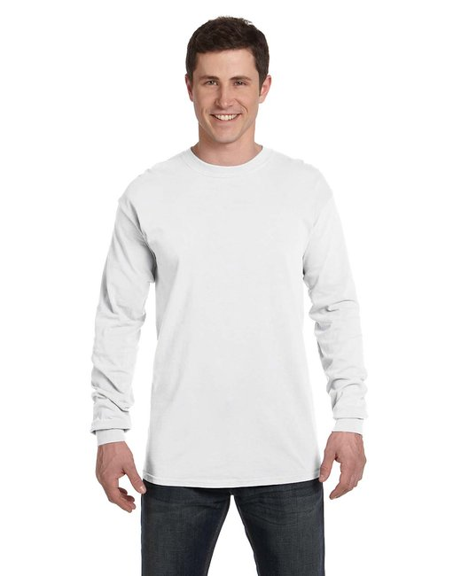 Comfort Colors Adult Heavyweight RS Long-Sleeve T-Shirt - White