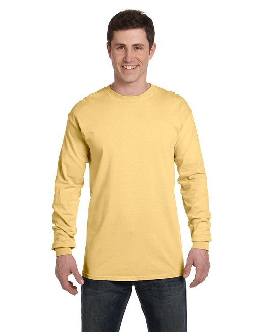 Comfort Colors Adult Heavyweight RS Long-Sleeve T-Shirt - Butter