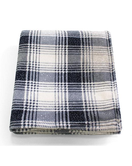 Kanata Blanket Cabin Throw - Blue Plaid