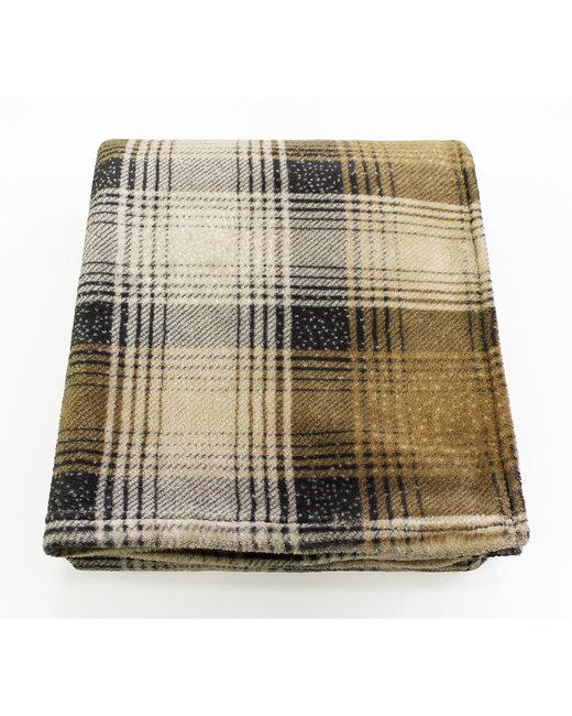 Kanata Blanket Cabin Throw - Gray Plaid