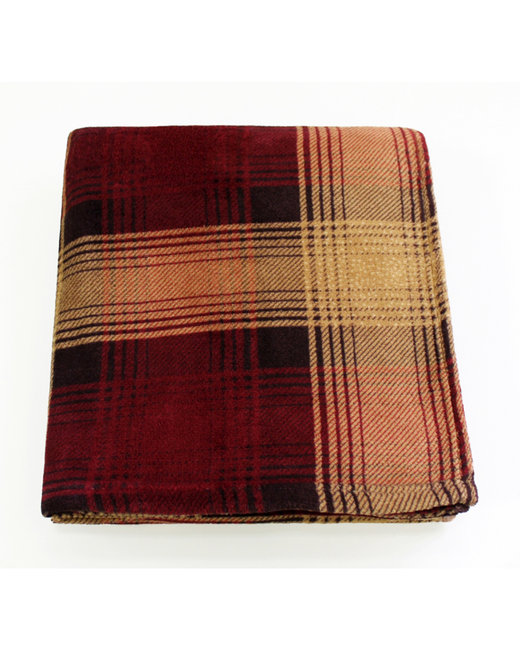 Kanata Blanket Cabin Throw - Red Plaid