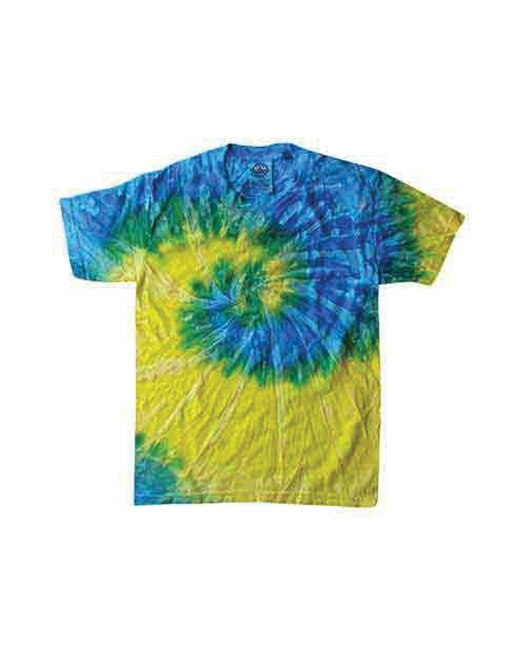 click to view SPIRAL BLUE & YELLOW