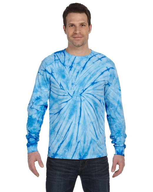Tie Dye Unisex Tie Dyed Long Sleeve T-shirt