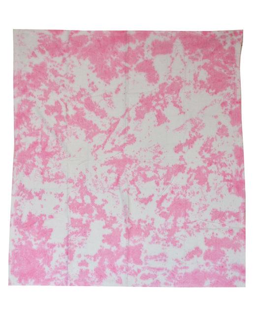 Tie-Dye Throw Blanket - Cloud Pink