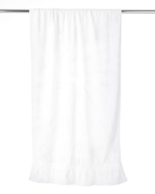 Tie-Dye Beach Towel - White