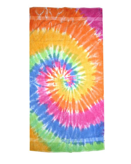 Tie-Dye Beach Towel - Eternity