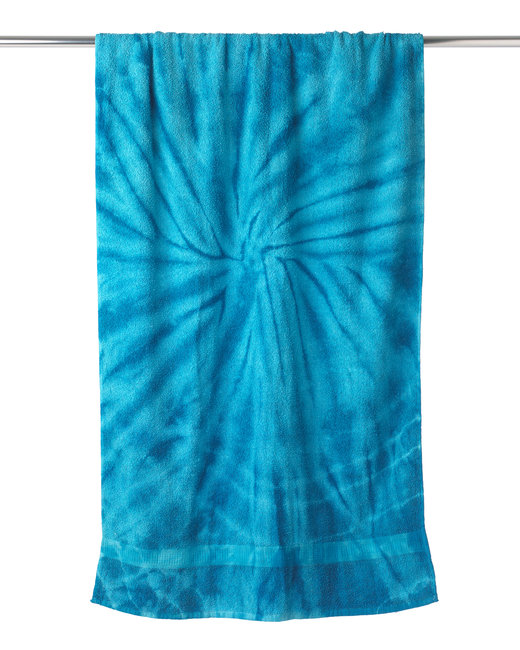 Tie-Dye Beach Towel - Spider Turquoise