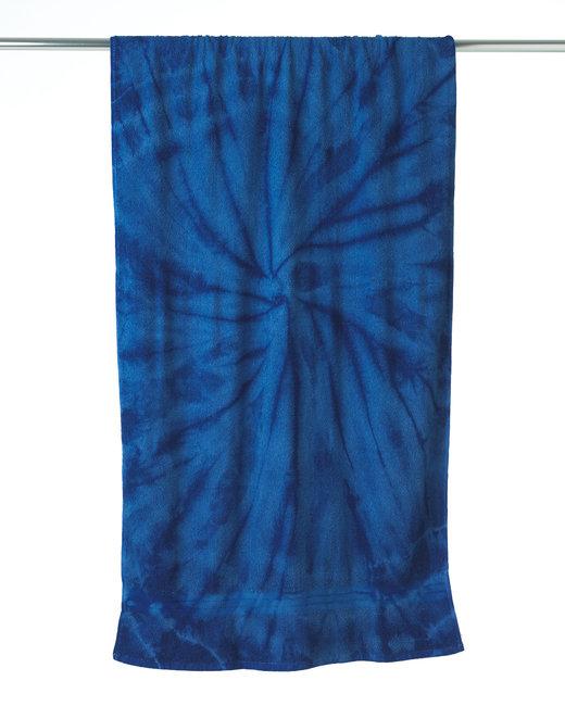Tie-Dye Beach Towel - Spider Royal