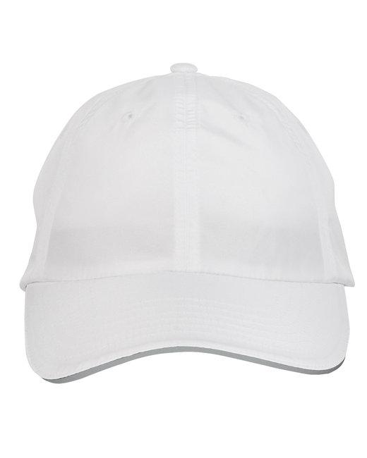 Ash City - Core 365 Adult Pitch Performance Cap - White