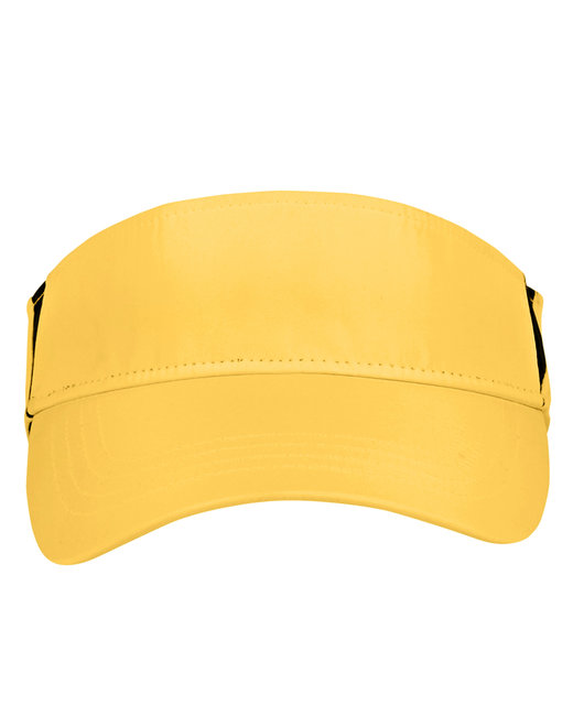 Ash City - Core 365 Adult Drive Performance Visor - Campus Gld/ Crbn