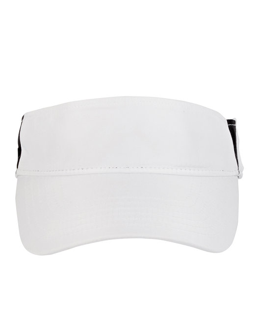Ash City - Core 365 Adult Drive Performance Visor - White/ Carbon