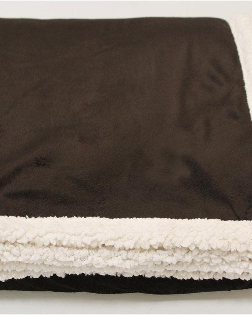 Kanata Blanket Original Lambswool Throw - Dk Chocolate