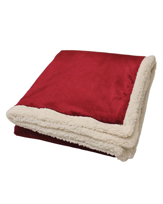 Kanata Blanket Original Lambswool Throw - Garnet