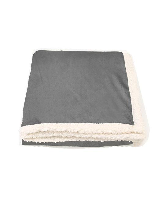 Kanata Blanket Original Lambswool Throw - Light Gray