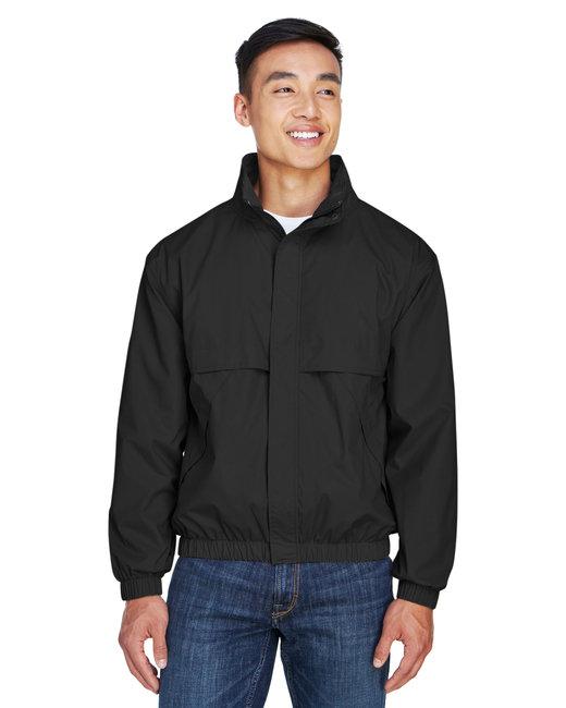 Devon & Jones Men's Clubhouse Jacket - Black/ Black