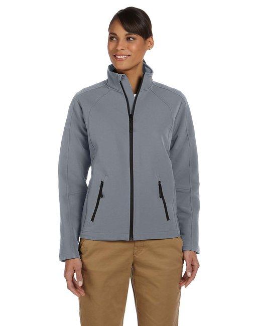 Devon & Jones Ladies' Doubleweave Tech-Shell� Duplex Jacket - Graphite