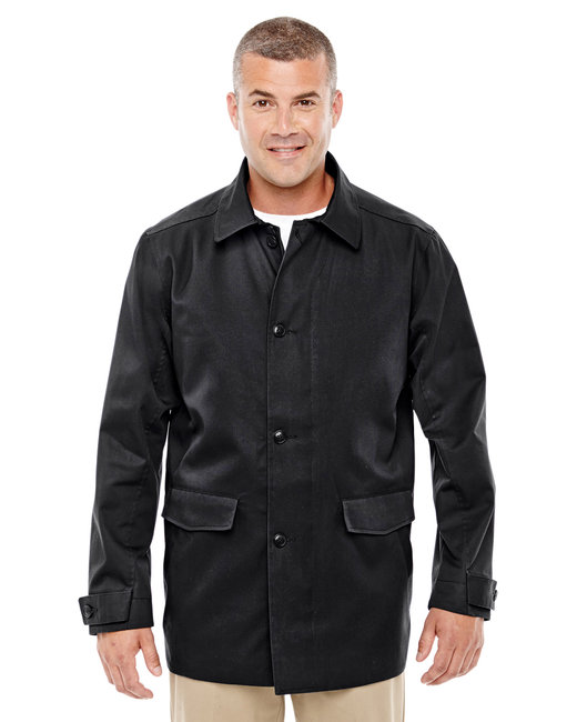 Devon & Jones Men's Sullivan Harbor Trench - Black