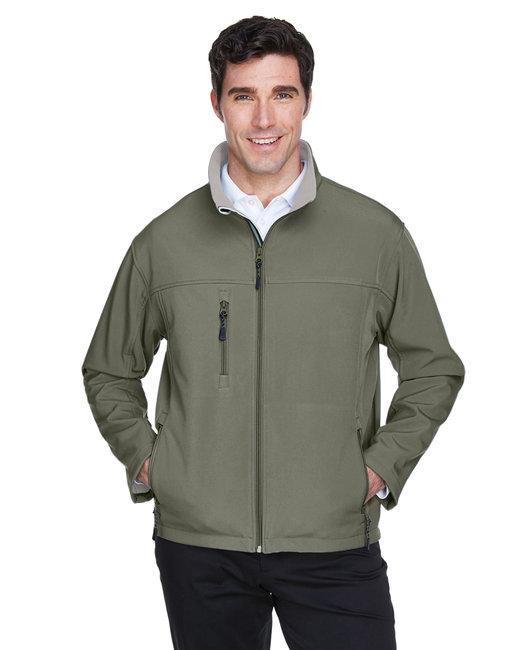 Devon & Jones Men's Soft Shell Jacket - Olive