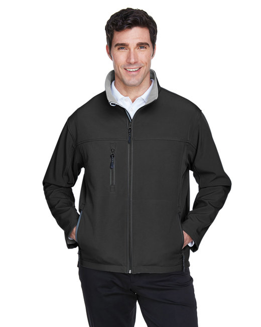 Devon & Jones Men's Soft Shell Jacket - Black
