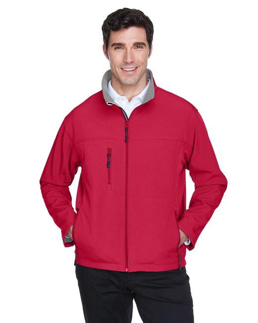 Devon & Jones Men's Soft Shell Jacket - Red