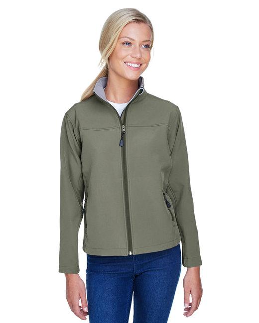 Devon & Jones Ladies' SoftShell Jacket - Olive