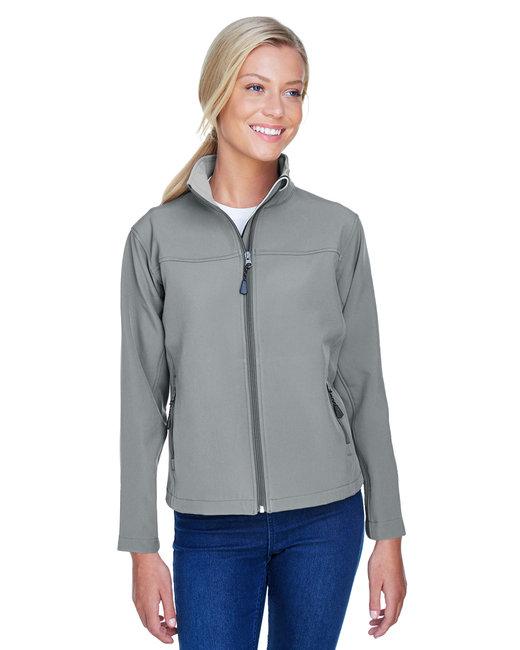 Devon & Jones Ladies' SoftShell Jacket - Charcoal