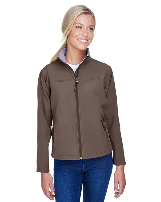 Devon & Jones Ladies' Soft Shell Jacket - Brown