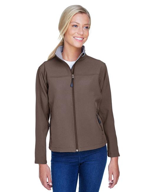 Devon & Jones Ladies' Soft�Shell Jacket - Brown