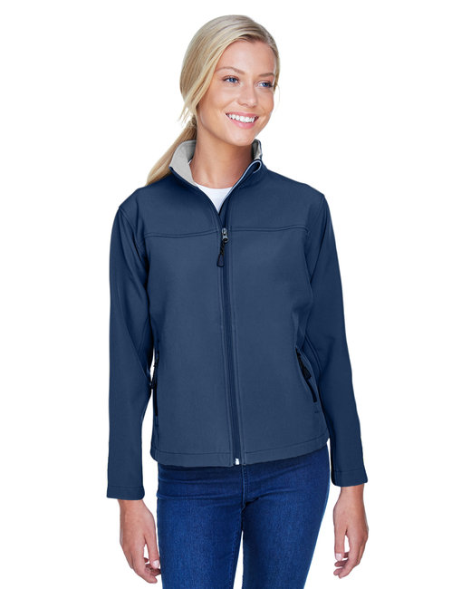 Devon & Jones Ladies' SoftShell Jacket - Navy