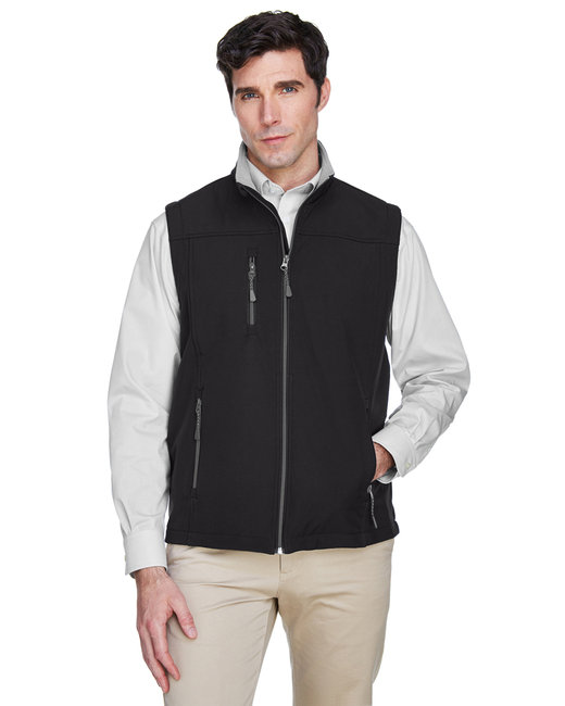 Devon & Jones Men's Soft�Shell Vest - Black