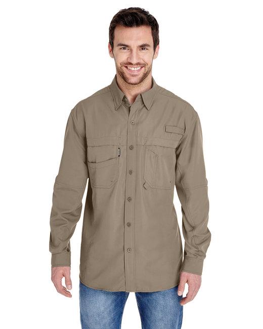 Dri Duck Men's 100% polyester Long-Sleeve Fishing Shirt - Rope