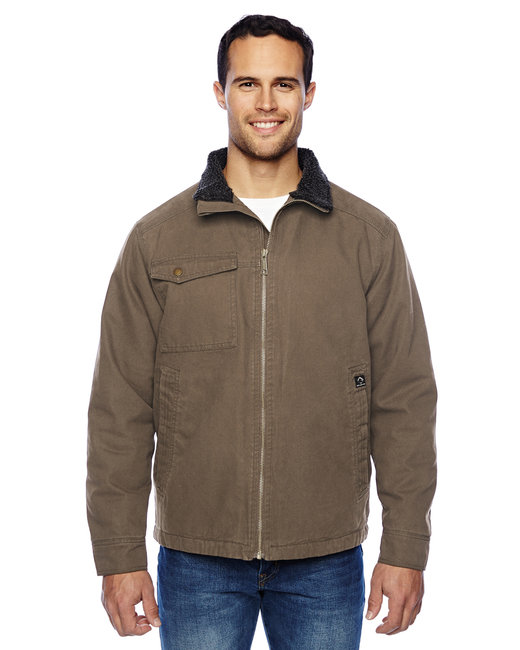 Dri Duck Men's Endeavor Jacket - Field Khaki