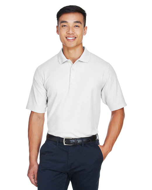 Devon & Jones Men's DRYTEC20� Performance Polo - White