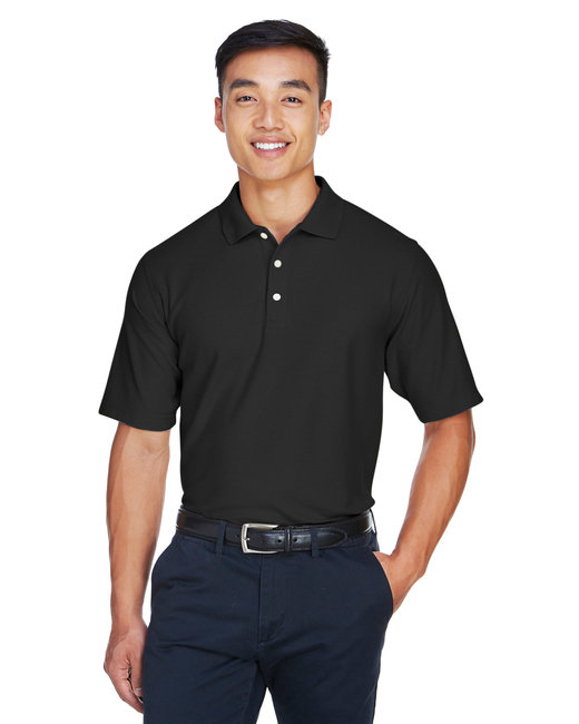 Devon & Jones Men's DRYTEC20� Performance Polo - Black