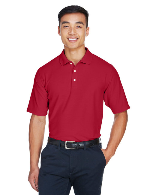 Devon & Jones Men's DRYTEC20� Performance Polo - Red