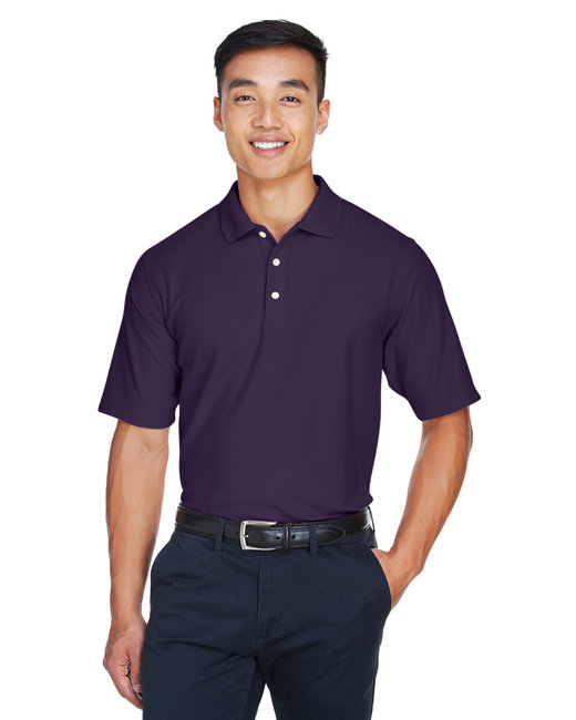 Devon & Jones Men's DRYTEC20� Performance Polo - Deep Purple