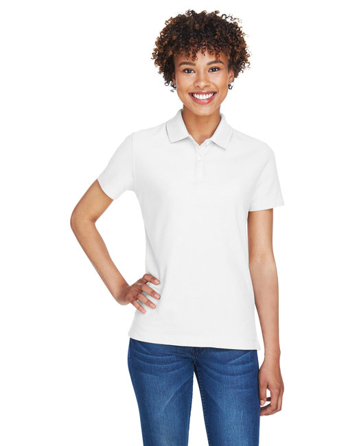 Devon & Jones Ladies' DRYTEC20� Performance Polo - White