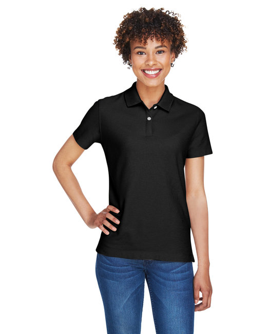 Devon & Jones Ladies' DRYTEC20� Performance Polo - Black