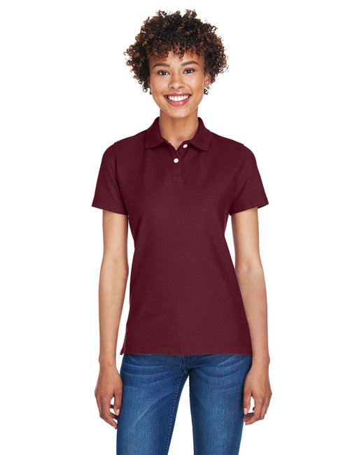 Devon & Jones Ladies' DRYTEC20� Performance Polo - Burgundy