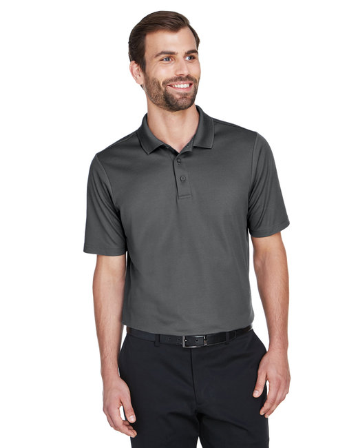 Devon & Jones Men's CrownLux Performance� Plaited Polo - Graphite