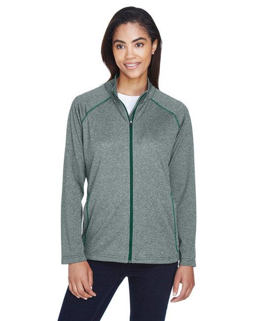 Devon & Jones Ladies' Stretch Tech-Shell® Compass Full-Zip - Forest Heather